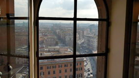 Piazza del Risorgimento. Rome, Italy stock video footage