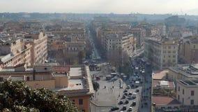 Piazza del Risorgimento. Rome, Italy stock video