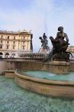 Piazza dela Repubblica, Rome Stock Photography