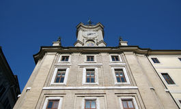Piazza dell& x27;Orologio iin Rome, Italy Stock Image