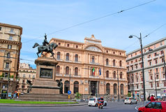 Piazza della Borsa Royalty Free Stock Photos
