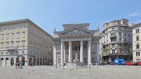 Piazza della Borsa Trieste Stock Image