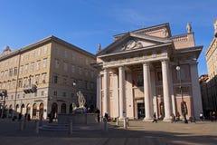 Piazza della Borsa Stock Image