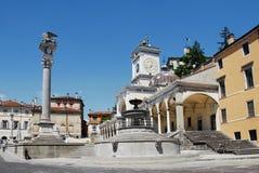 Piazza della Liberta Stock Images