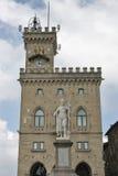Piazza della Liberta in San Marino. Stock Photo