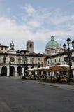 Piazza della Loggia, Brescia, Italy Stock Image