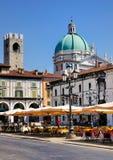 Piazza della Loggia, Brescia, Itally Stock Images