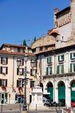 Statue on Piazza della Loggia, Brescia Stock Photography