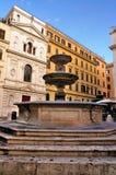 Piazza della Madonna dei Monte, Rome Stock Photography
