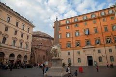 Piazza della Minerva Stock Photo
