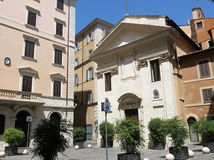 Piazza della Pigna, Rome Royalty Free Stock Photography