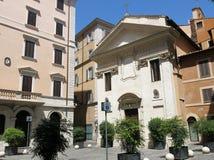 Piazza della Pigna, Rome Royalty Free Stock Photography