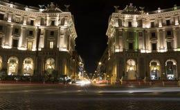 Piazza della Repubblica Royalty-vrije Stock Foto's