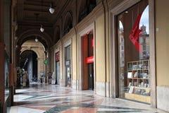 Piazza della Repubblica arches in Florence Stock Images