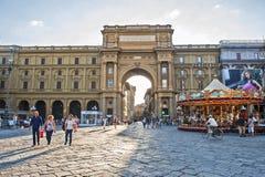 Piazza Della Repubblica Stock Image