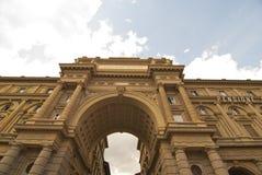 Piazza della Repubblica, Florence Stock Image