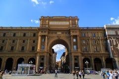 Piazza Della Repubblica Royalty Free Stock Photo