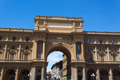 Piazza della Repubblica - Florence Royalty Free Stock Images