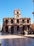 Piazza della Repubblica, Marsala, Sicily, Italy Stock Images