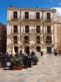 Piazza della Repubblica, marsala, Sicily, Włochy Zdjęcie Stock