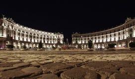 Piazza della Repubblica (Republic Square) in Rome Italy Stock Photography