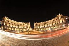 Piazza della Repubblica in Rome, Italy Stock Images