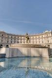 Piazza della Repubblica in Rome, Italy Stock Photo