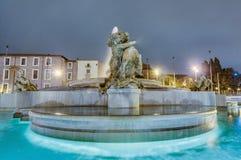 Piazza della Repubblica in Rome, Italy Royalty Free Stock Images