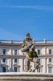 Piazza della Repubblica in Rome, Italy Royalty Free Stock Image