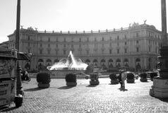 Piazza della Repubblica, Rome, Italy Stock Image