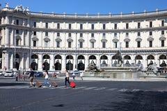 Piazza della Repubblica Stock Images