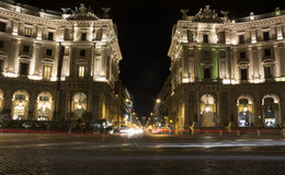 Piazza della Repubblica Royalty Free Stock Photos