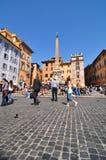 Piazza della Rotonda, Rome Royalty Free Stock Image