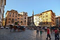Piazza della Rotonda, Rome Stock Photo