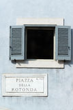 Piazza Della Rotonda Royalty Free Stock Photo