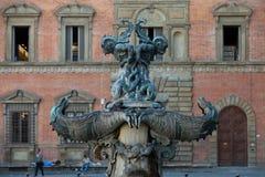 Piazza della Santissima Annunziata in Florence, Stock Image