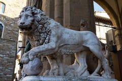 Piazza della Signoria Royalty-vrije Stock Foto's