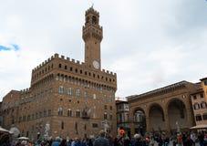 Piazza della Signoria Stock Photo