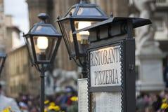 Piazza della Signoria, Florence. Architectural Detail of Piazza della Signoria in Florence, Italy Royalty Free Stock Image