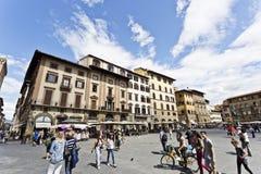 Piazza della Signoria Stock Image
