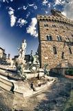 Piazza della Signoria in Florence, Italy Royalty Free Stock Photos