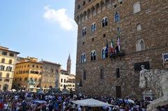 Piazza Della Signoria Florence, Italy Royalty Free Stock Photos