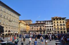 Piazza Della Signoria Florence, Italy Stock Photo