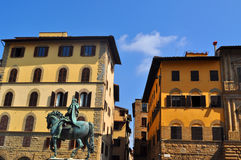 Piazza Della Signoria Florence, Italy Royalty Free Stock Photography