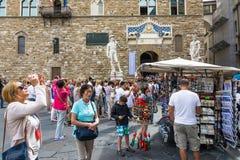 Piazza della signoria Royalty Free Stock Photos