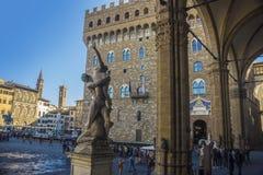 Piazza della Signoria, Florence, Italy Stock Photography