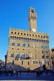 Piazza della Signoria in Florence, Italy Stock Images