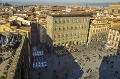 Piazza della Signoria, Florence, Italy Royalty Free Stock Photos