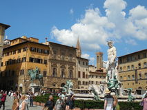 Piazza della Signoria in Florence Royalty Free Stock Photography