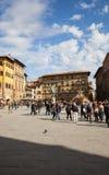 Piazza della Signoria in Florence stock image